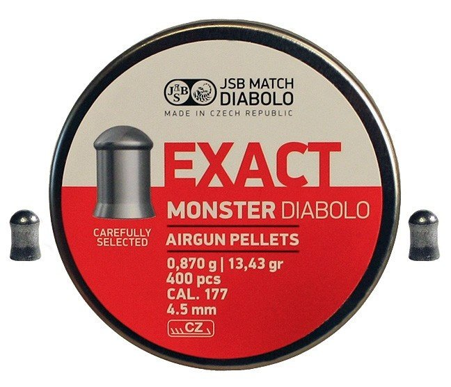 JSB Exact Monster 4.5   400шт 0.87г